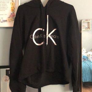 Black Calvin Klein Hoodie
